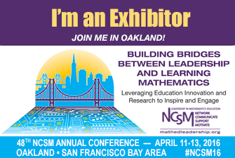 NCSM - 2016 NCSM Annual Conference