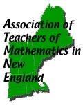 Association of Teachers of Mathematics in New England Logo