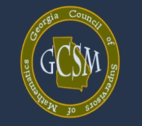 Georgia Council of Supervisors of Mathematics Logo