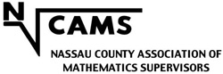 Nassau County Association of Supervisors of Mathematics Logo