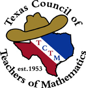 Texas Council of Teachers of Mathematics Logo