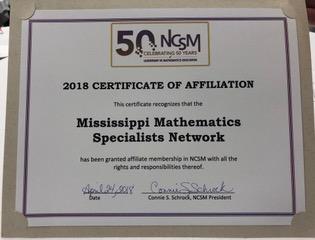 MMNS Certificate
